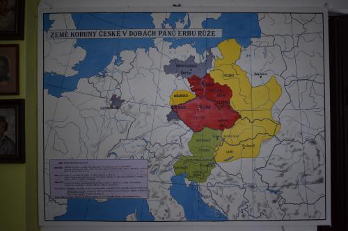 Mapa zemì Koruny èeské