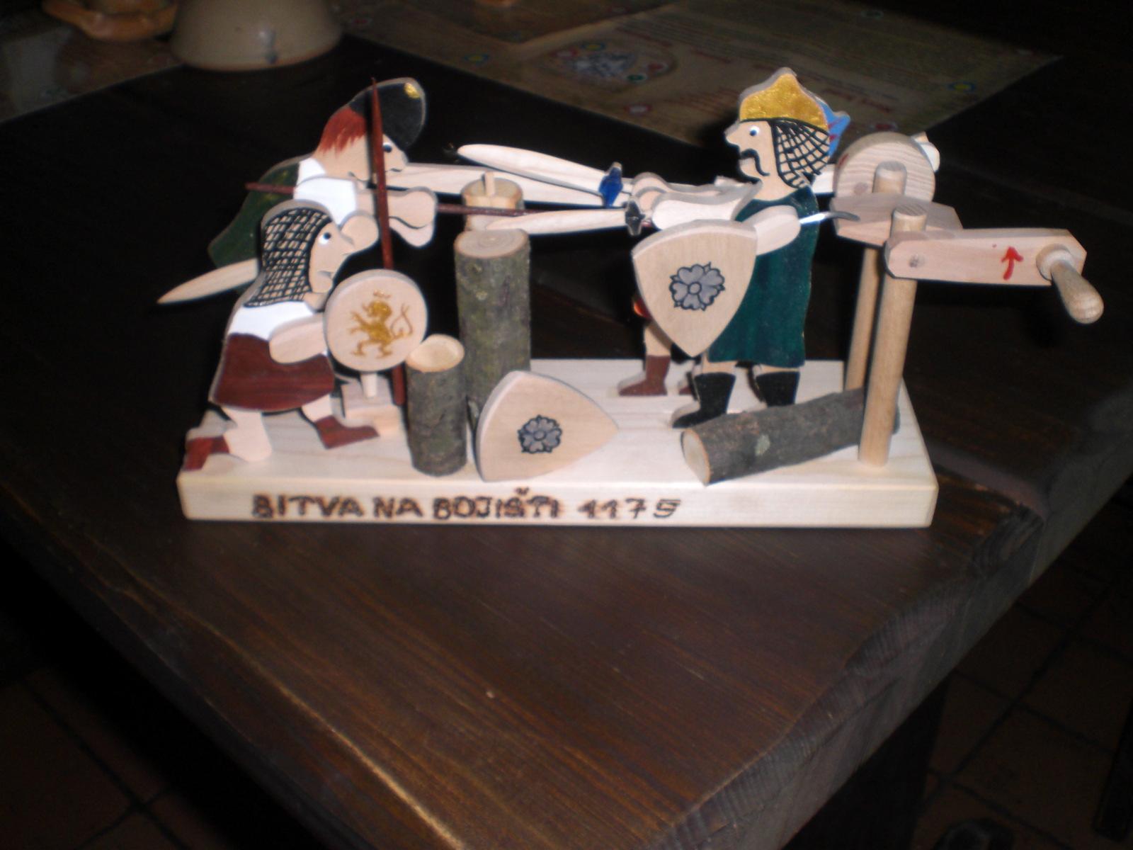 Døevìná bitva na bojišti 1179 - zvìtšit obrázek
